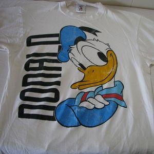 Vintage Donald Duck Graphic T-Shirt, L